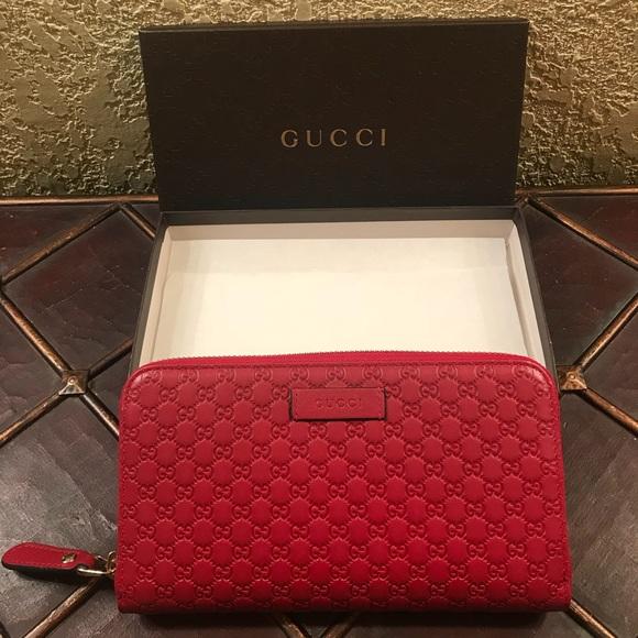 cddf0f961c7d Gucci Bags | Micro Gg Ssima Zip Around Wallet | Poshmark